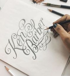 Lettering Art, Lettering Design, Calligraphy Letters, Typography Letters, Drop Cap, Web Design, Graphic Design, Script Type, Sketch