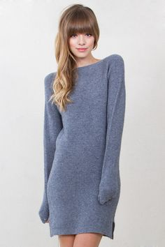 What other way to welcome in the cold weather than with an adorb knit sweater…