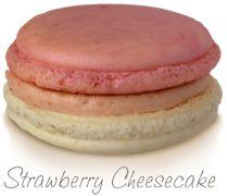 Strawberry Cheesecake Macaron TMSWEET.com