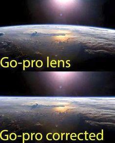 5f211533107 Image as shot by nasa versus image by regular camera. Fahmi Yogya · Flat  Earth - Proof