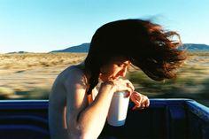"""""""Dakota Hair"""", de Ryan McGinley, que foi capa da Foam, a revista do Museu de Fotografia de Amsterdã, em 2004"""