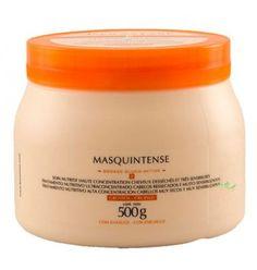 Masquintense Cheveux Epais é um tratamento de nutrição intensa para cabelos espessos, muito secos, e grossos. Máscara de Tratamento ultraconcentrado para cabelos ressecados, muito sensibilizados e grossos.