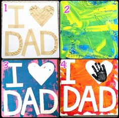 Here are some creative and easy Father's day card ideas for kids to make for their dads! These are all homemade and are super cheap to make!