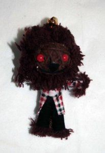String Doll World Werewolf Voodoo String Doll Keychain            . Check Price >> http://www.amazon.com/String-Doll-World-Werewolf-Keychain/dp/B007TFA176