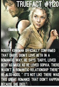 I DONT CARE WHAT HE SAID! BETHYL IS AS REAL AS NORMAN REEDUS! ~emilia