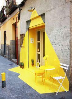 Bar iluminado #arte urbano #street art