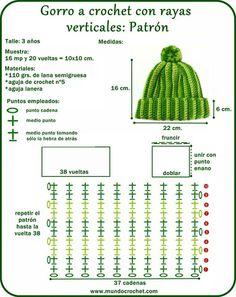 Hat crochet pattern for kids