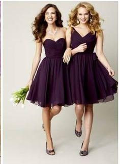 a3419f42ecf 12 Best Aubergine bridesmaids dresses images