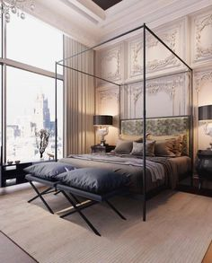 Transitional Bedroom Ideas - We have actually featured a lot of bedroom layouts currently and without a doubt, you still like to see even more due to the fact that we never ever obtain sufficient of bedroom interior design ideas that . Master Bedroom Design, Home Decor Bedroom, Modern Bedroom, Bedroom Furniture, Bedroom Ideas, Contemporary Bedroom, Luxury Furniture, Furniture Design, Master Bedrooms