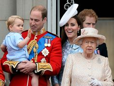 Prince George at Trooping the Colour 2015: Photos