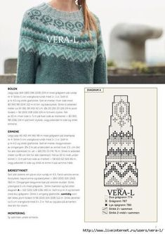 Crochet Sweater Raglan Fair Isles 38 Ideas – Awesome Knitting Ideas and Newest Knitting Models Jumper Patterns, Easy Knitting Patterns, Knitting Charts, Knitting Stitches, Knitting Tutorials, Knitting Machine, Stitch Patterns, Vogue Knitting, Lace Knitting