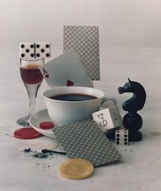 This stunning, extremely rare early print is an early example of Irving Penn's meticulously-arranged and photographed still lifes.