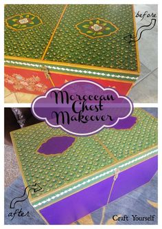 Moroccan Chest Makeover - craftyourself.com