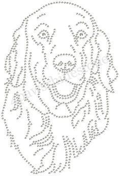 Dog Lover GOLDEN Retriever Bling Rhinestone by 4PawsRhinestone, $12.00