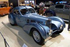 Bugatti Type 57 Atlantic - they come in blue too