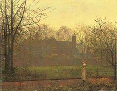 The Chill of Autumn - John Atkinson Grimshaw