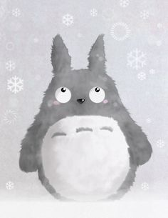 Totoro by ~Pixie-dust17