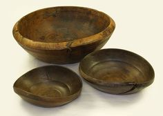 English: Wooden bowl found on board the 16th century carrack Mary Rose.