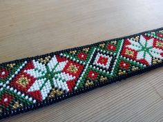 Bead Loom Patterns, Cross Stitch Patterns, Bead Crafts, Diy And Crafts, Crochet Bedspread, Hardanger Embroidery, Folk Costume, Loom Beading, Norway
