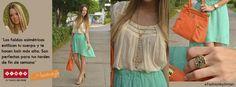 Las faldas asimétricas estilizan tu cuerpo y te hacen lucir más alta. Son perfectas para tus tardes de fin de semana. Fashion By Almacenes SIMAN. http://www.siman.com