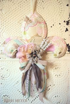 Fleur de lis hanger by Heidi Meyer, via Flickr