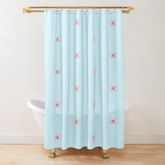 Butterfly Shower Curtain, Pink Butterfly, Canvas Prints, Art Prints, Pastel Pink, Vintage Posters, Curtains, Printed, Interior Design