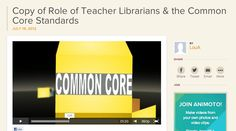 Role of Teacher Librarians & the Common Core Standards