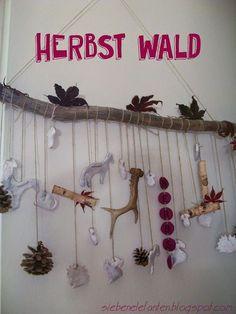 DIY: Herbst Wald siebenelefanten.blogspot.com