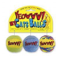 Organic Catnip Balls