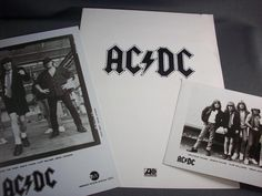 "AC/DC ""Blow Up Your Video,"" Promotional Biography & Promotional Photos, AC/DC!!"