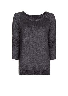 MANGO - Pearly asymmetric jumper