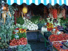Near Naples - a green grocer!