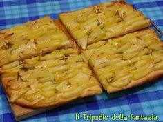 Il Tripudio della Fantasia: Pizza con patate e rosmarino