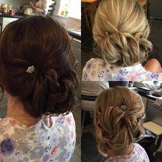 #hair #bridesmaid #hairstyle #weddings #braids #bridesmaidhair