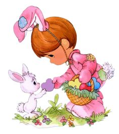 Easter gifs clipart collection - Cliparts World 2019 Precious Moments Quotes, Precious Moments Coloring Pages, Precious Moments Figurines, Gif Animé, Animated Gif, Decoupage Ideas For Kids, Gifs, Easter Pictures, Holiday Pictures