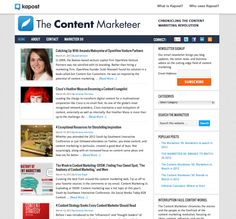 The Content Marketeer - Chronicling the Content Marketing Revolution.