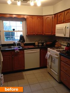 Before & After: A Dated Kitchen's Fresh Facelift on a Budget
