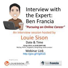 Interview with the expert - Ben Francia