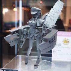 Kantai Collection ~Kan Colle~ - 1/7 - Graf Zeppelin - Aoshima (?) - Statuen / PVC - Figuren - Japanshrine
