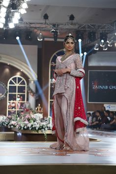 Bridal Couture Week 2015 Zainab Chottani Latest Collection Images