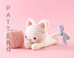 Libros De Amigurumis Gratis : Laid back cat crochet pattern is adorable libros