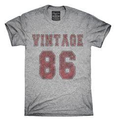 1986 Vintage Jersey T-Shirts, Hoodies, Tank Tops