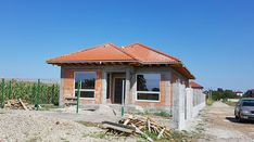 Casa pe parter in Corbeanca | CoArtCo House Foundation, Design Case, Architect Design, Gazebo, House Plans, Outdoor Structures, Construction, House Styles, Outdoor Decor