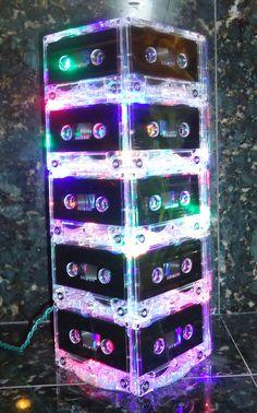 Cassette Tape Mixtape Night Light by BreakTheRecord. $69.00, via Etsy.