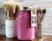 Handmade ChalkFinish Paint, BloomingFusia, Pink, Shabby Chic Pink, Ice Cream Party, Hot Pink Furniture, Pink Lemonade Stand by UrbanOasisDecor
