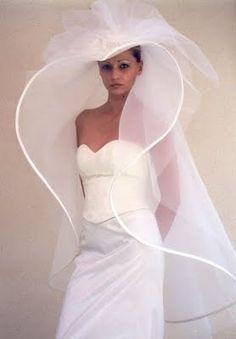 Wedding Hats, Best Wedding Dresses, Boho Wedding Dress, Wedding Attire, Wedding Styles, Wedding Gowns, Backless Wedding, Tulle Wedding, Floral Wedding