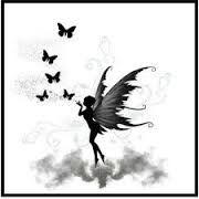 Image result for fairy silhouette tattoo