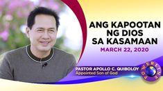 'Ang Kapootan ng Dios sa Kasamaan' by Pastor Apollo C. Spiritual Enlightenment, Spirituality, New Jerusalem, Bible Truth, Son Of God, Apollo, Gods Love, Worship, Foodies