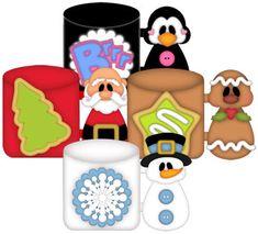 Christmas Mugs - Treasure Box Designs Patterns & Cutting Files (SVG,WPC,GSD,DXF,AI,JPEG)