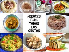 ARROCES PARA TODOS LOS GUSTOS